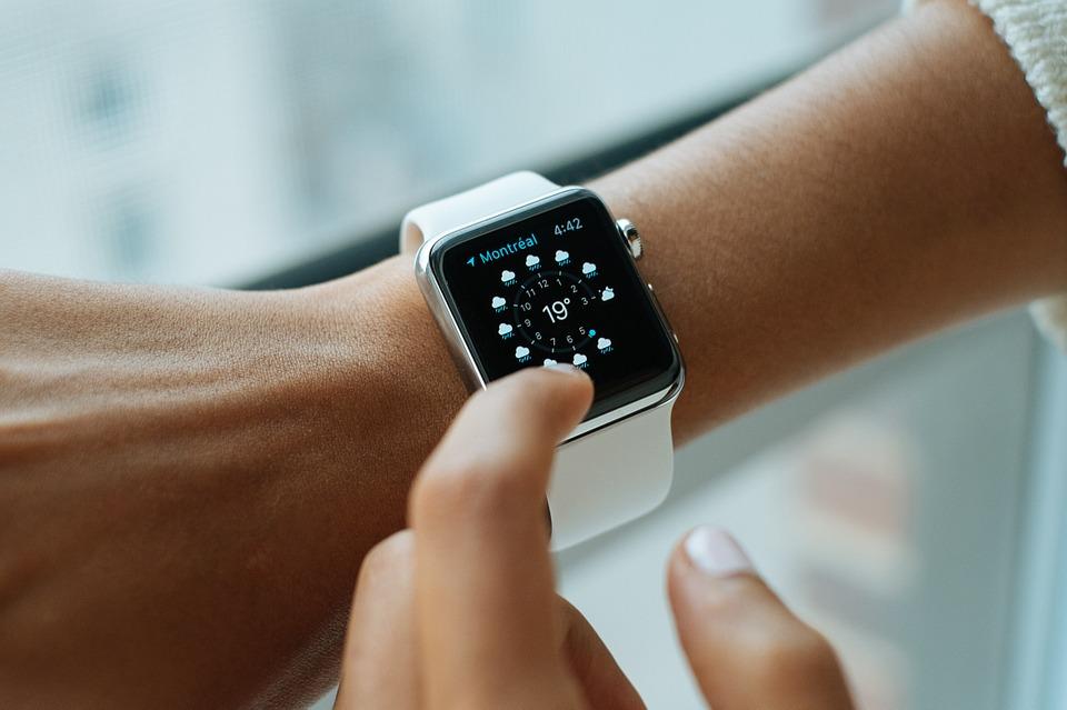 les montres connectées