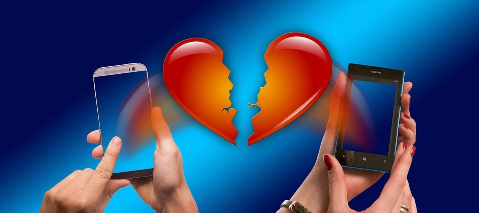 séparation amoureuse